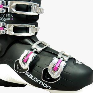 buty narciarskie czarne